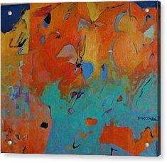 Icarus Descent II Acrylic Print