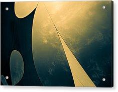 Icarus Journey To The Sun Acrylic Print by Bob Orsillo