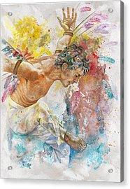 Icarus Acrylic Print by Rineke De Jong