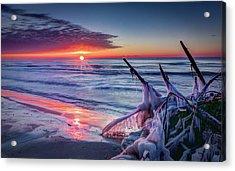 Ice Age Sunrise 1 Acrylic Print