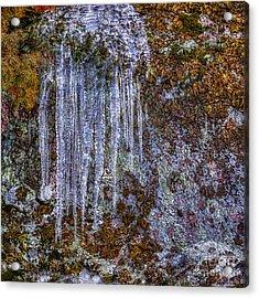 Ice And Rock Acrylic Print by Veikko Suikkanen
