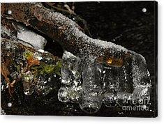 Ice Boots Acrylic Print