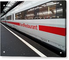 Ice Bord Restaurant At Zurich Mainstation Acrylic Print