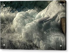 Ice Cap 2 Acrylic Print by Rick Couper