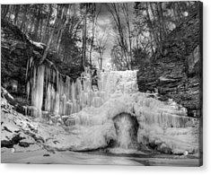 Ice Castle Acrylic Print by Lori Deiter