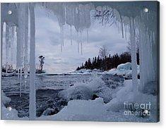 Ice Cave Beauty Acrylic Print