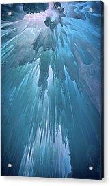 Ice Cavern Acrylic Print