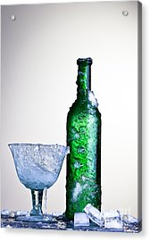 Ice Cold Drink Acrylic Print by Dirk Ercken