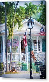 Ice Cream In Key West Acrylic Print