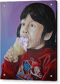 Ice Cream Acrylic Print by Kevin Callahan