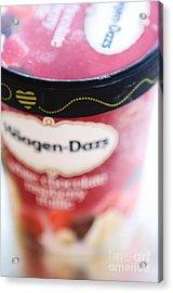 Ice Cream Acrylic Print by Kim Fearheiley