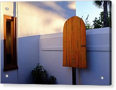 Ice Cream Shop Wooden Popsicle In Saint Augustine Florida Acrylic Print