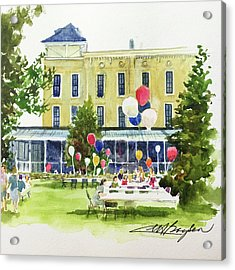 Ice Cream Social And Strawberry Festival, Lakeside, Oh Acrylic Print