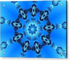 Ice Cristals Acrylic Print