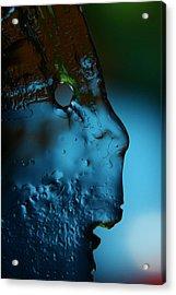 Ice Face Acrylic Print