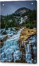 Ice Fall Acrylic Print
