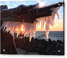 Ice Fangs Acrylic Print