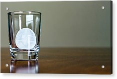 Ice For Whisky Or Cocktail Acrylic Print