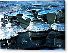Ice Formation 10 Acrylic Print