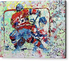 Ice Hockey No1 Acrylic Print