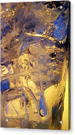 Ice Ice Baby Acrylic Print by Vijay Sharon Govender