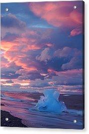 Ice Ignites Acrylic Print