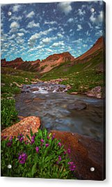 Acrylic Print featuring the photograph Ice Lake Nights by Darren White