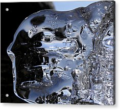 Acrylic Print featuring the photograph Ice Man by Sami Tiainen