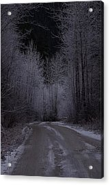 Ice Road Acrylic Print