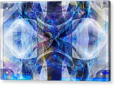 Ice Structure Acrylic Print