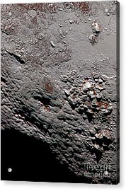 Ice Volcano On Pluto Acrylic Print by Science Source