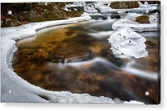 Ice Water Acrylic Print