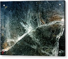 Ice Winter Denmark Acrylic Print by Colette V Hera Guggenheim