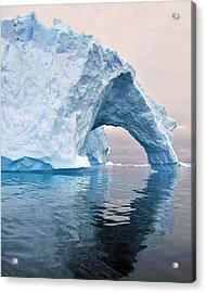 Iceberg Alley Acrylic Print by Tony Beck