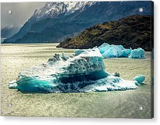 Acrylic Print featuring the photograph Iceberg by Andrew Matwijec