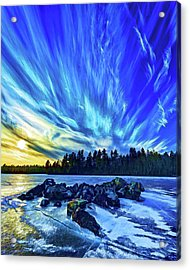 Icebound 3 Acrylic Print by ABeautifulSky Photography