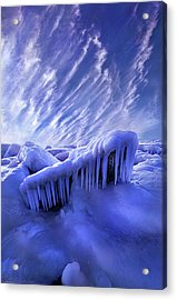 Acrylic Print featuring the photograph Iced Blue by Phil Koch