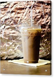 Iced Coffee 2 Acrylic Print