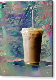Iced Coffee 3 Acrylic Print