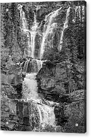 Icefields Waterfall Acrylic Print