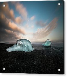 Iceland Glacial Ice Acrylic Print