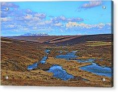 Iceland Landscape # 1 Acrylic Print by Allen Beatty