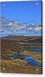 Iceland Landscape # 2 Acrylic Print by Allen Beatty