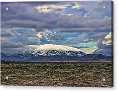 Iceland Landscape # 4 Acrylic Print by Allen Beatty