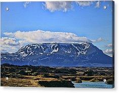 Iceland Landscape # 6 Acrylic Print by Allen Beatty