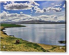 Iceland Landscape # 7 Acrylic Print by Allen Beatty