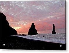 Iceland Sunrise Acrylic Print