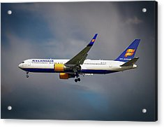 Icelandair Boeing 767-319 Er Acrylic Print