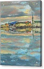 Icelandic 9 - Serene Acrylic Print