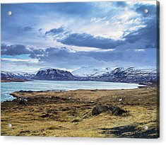 Icelandic Blues Acrylic Print